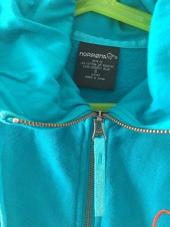 BLUZA damska norrona 1074-12 cotton zip hood S