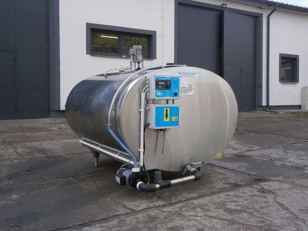 Schładzalnik, chłodnia, zbiornik do mleka Mueller, Wedholms, 1600 L