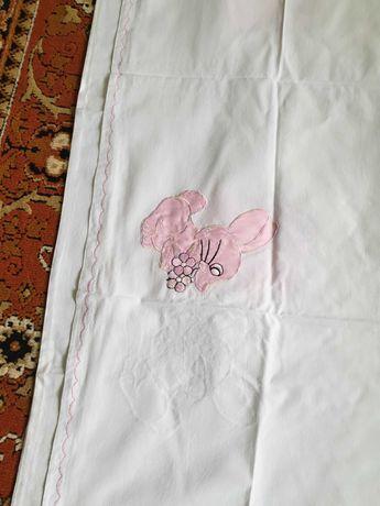 Комплект детского постельного белья девочка
