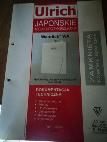 Książka , instrukcja obsługi urlich