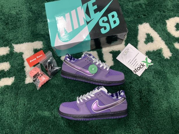 Nike SB Dunk low Purple Lobster 1:1 Supreme Off-White Yeezy Jordan