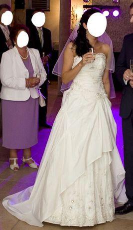 Suknia ślubna claudia welon GRATIS