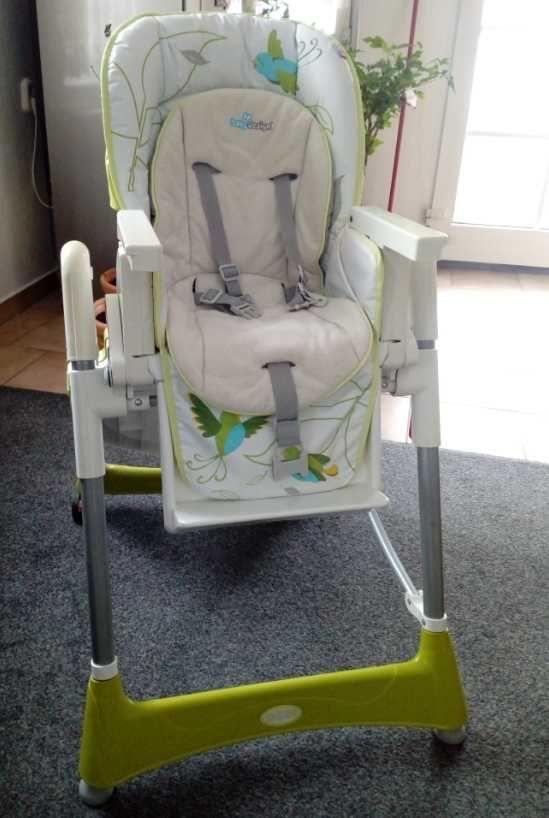 Krzesełko do karmienia Baby Design Bambi-OKAZJA!!!