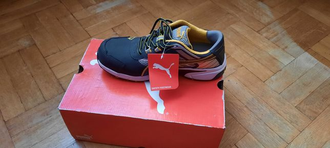 Nowe buty ochronne do pracy.