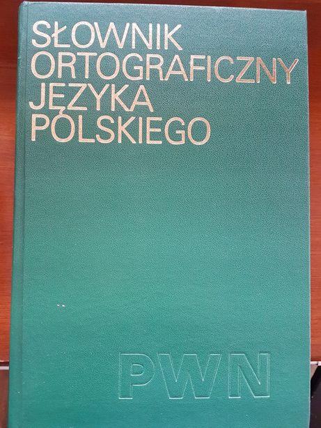 Słownik Ortograficzny Języka Polskiego PWN 1981