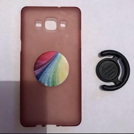 Чохли на телефон(Samsung A5 i Iphone 6+)плюс бонус попсокети і тримач