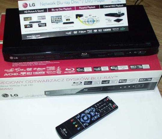Blu-Ray LG BD-550 LAN Full HD 1080p pilot