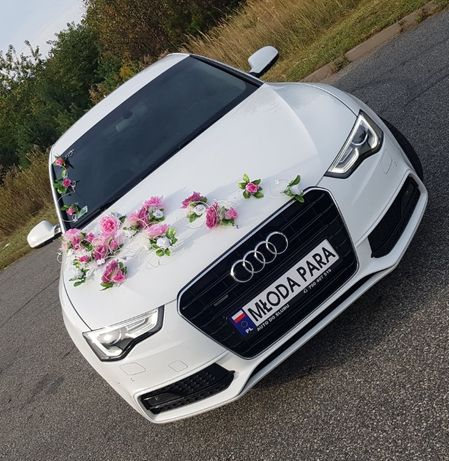 Samochód do ślubu, wynajem z kierowcą