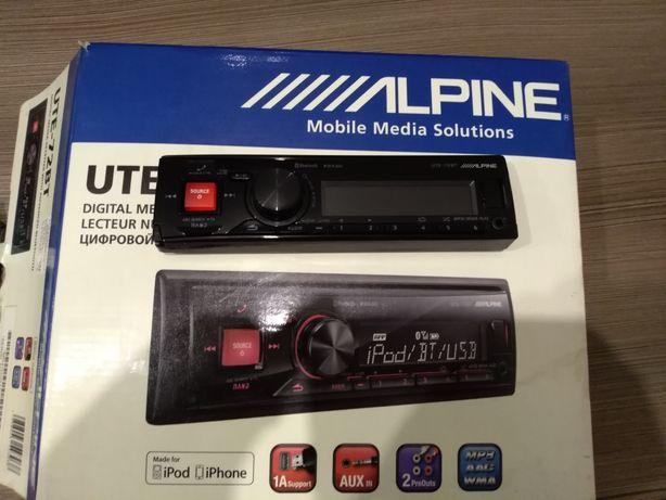 Radio samochodowe Alpine ute 72 bt
