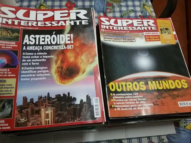 Grande Lote Revistas Super Interessante