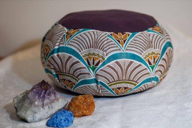 Zafu almofada de meditação e yoga