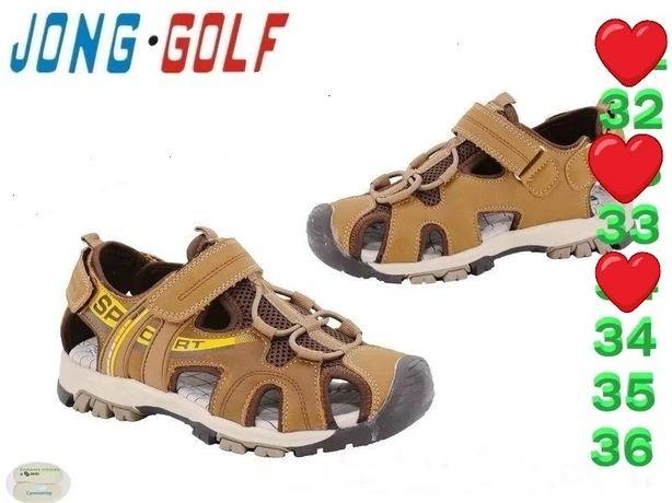 Босоножки НОВЫЕ для мальчика Jong Golf
