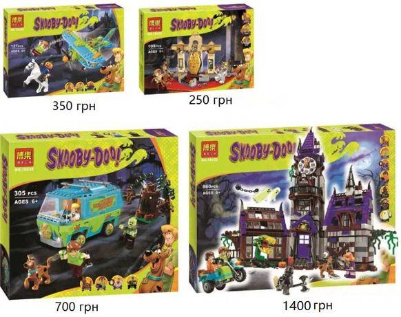 Конструктор Scooby-Doo Скуби-Ду Bela 10432 10429 10430 10428 LEGO