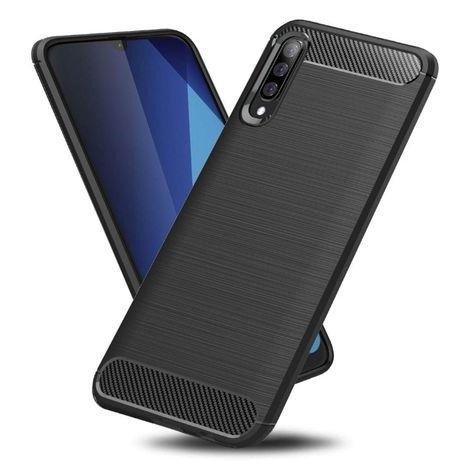 Case Etui Pancerne Carbon do Samsung Galaxy A50