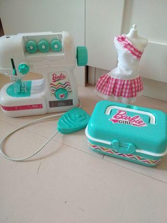 Maszyna do szycia Barbie prawdziwa zabawka dla dziewczynki