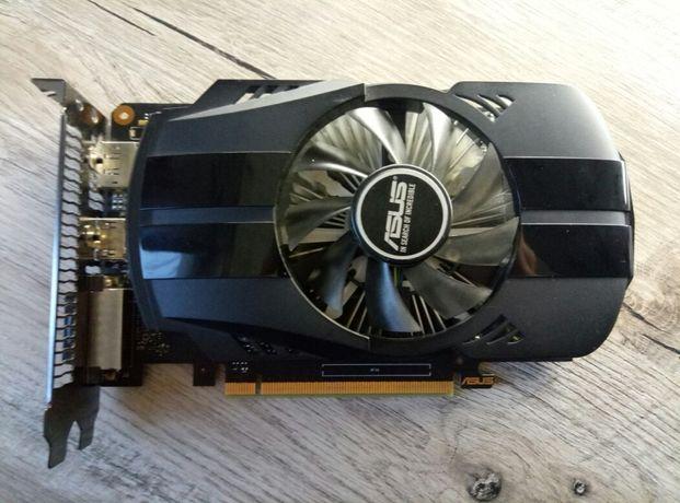 Asus GeForce GTX 1050 TI 4gb с пломбой