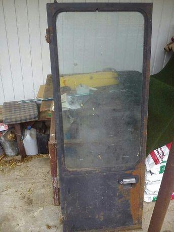 Drzwi do kabiny Bizon nowego typu 1988r. kabina