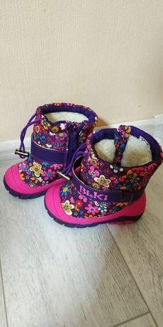 Ботинки зимние фирмы bi&ki 20 размер