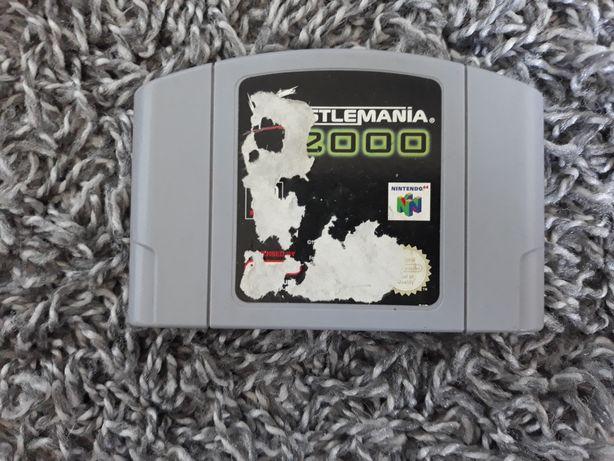 Gra Wrestlemania 2000 N64