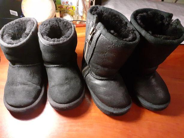 Угги  Ecco 22 23 24 зимние сапоги чоботи зимові