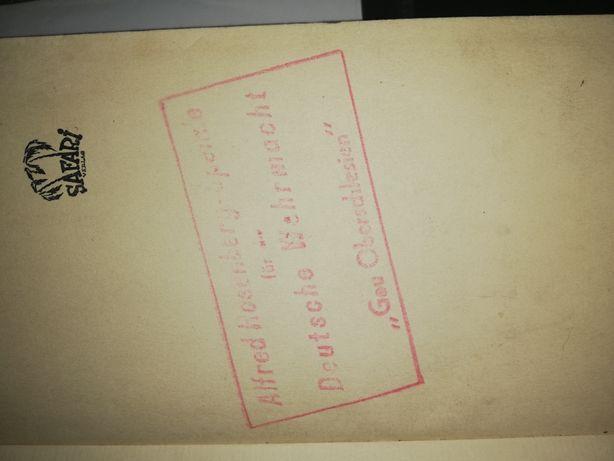 Książka niemiecka biblioteka werhmacht