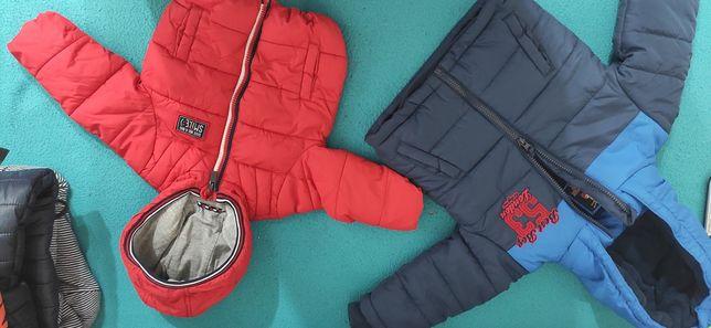 Zimowe kurtki dla chłopca/ zabawka
