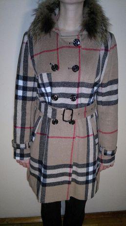 Burberry пальто куртка парка + шарф в подарок
