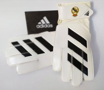 Rękawice bramkarskie Adidas Young Real Madryt ROZM.9