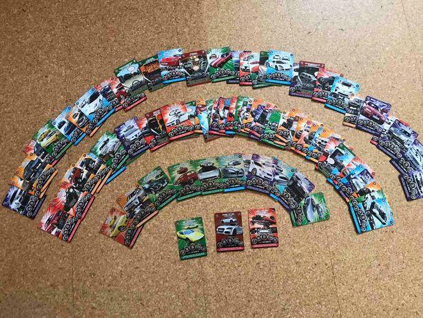 Карточки СуперГонки 91шт.