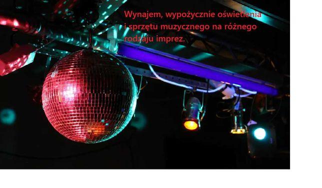 Wynajem sprzęt muzyczny imprezy 18-stki  wesela namioty ADS LDM BeamZ