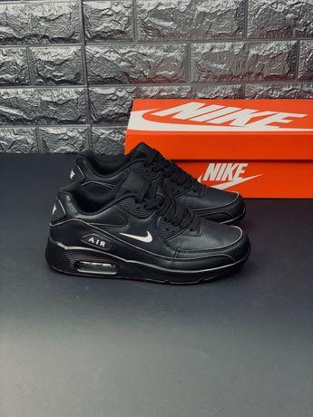Nike Кожаные оригинальные модели Найк Эйр 90 Air Force кеды кроссовки