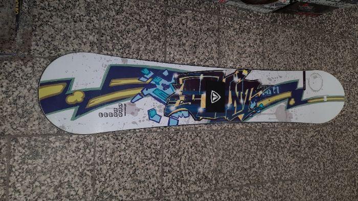 Deska snowboardowa Crazy Creek 145 cm Dębica - image 1