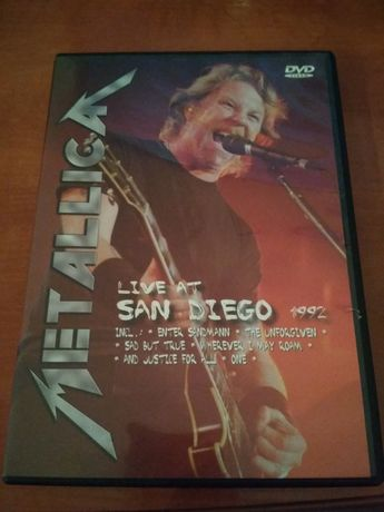 Metallica DVD live at San Diego 1992