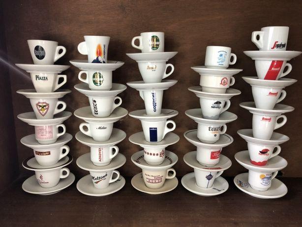 Coleção chávenas café