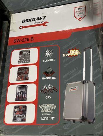 Kit completo Ferramentas BSKRAFT Germany