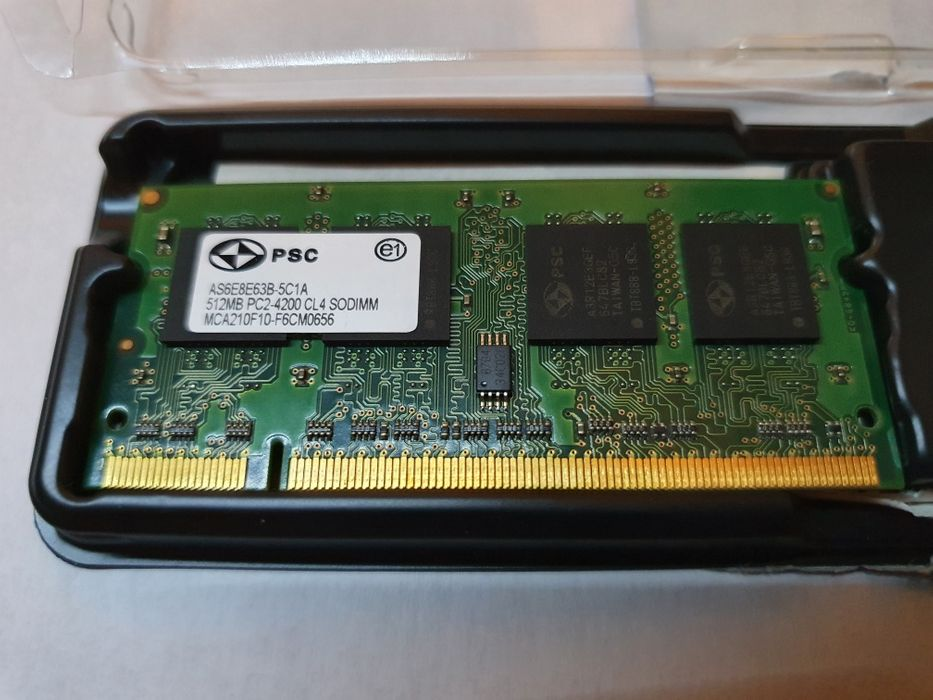 RAM DDR2 512MB sodimm Zabrze - image 1