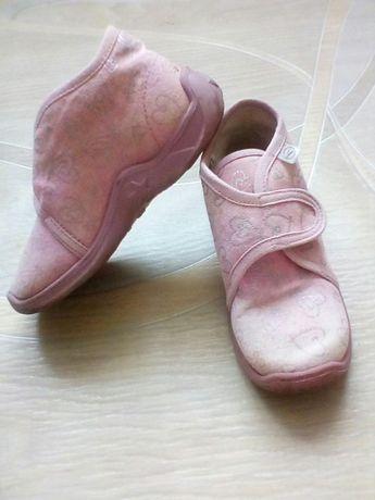 Туфельки/ тапочки тканевые для принцессы. 25 р., 15,5 см. по стельке.