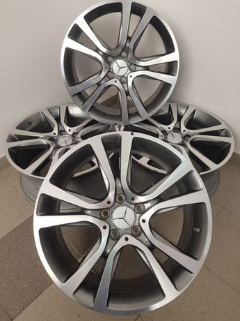 Нові диски Mercedes R19 E211, E212, E213, S221 Original Silver-polish.