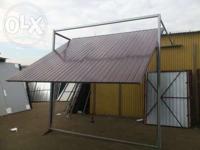 BRAMA uchylna bramy garażowe 250x210 drzwi stalowe-każdy wymiar