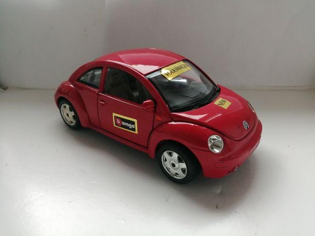 Model samochodu Bburago Burago w skali 1:24 Volkswagen New Beetle VW