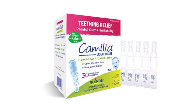 Средство для облегчения прорезывания зубов, гомеопатия Camilia boiron
