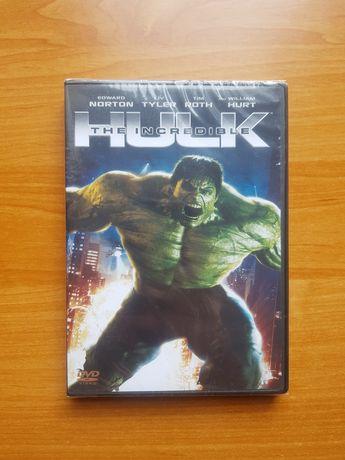 Nowe DVD The Incredible Hulk film Marvel w folii, Avengers