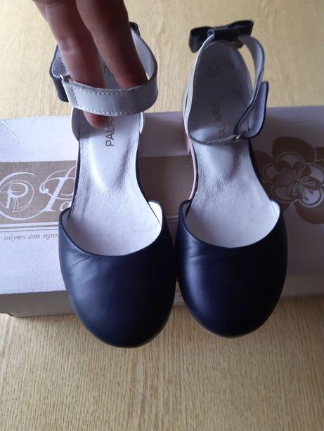 Кожаные туфли для девочки Palaris