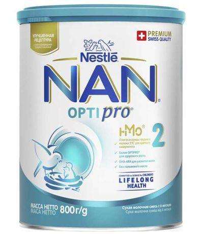 Детская смесь Nestle NAN 2 Optipro от 6 месяцев 800 г