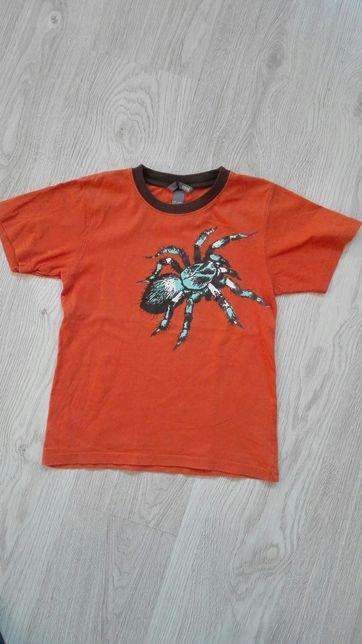 Koszulka hm 128 gruba bawełna