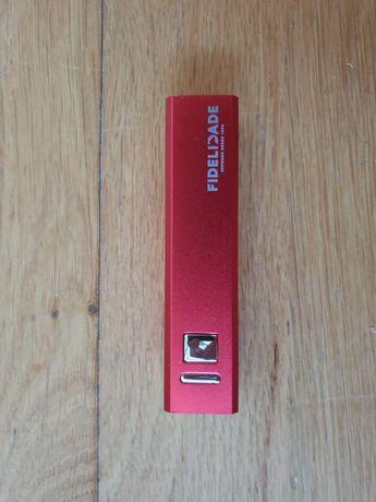 Powerbank NOVO com caixa e acessórios