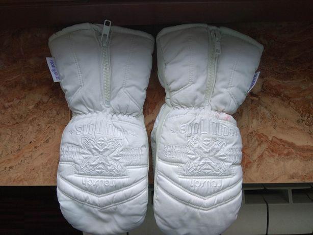 Rękawice rękawiczki zimowe ocieplane z jednym palcem skórzane Reusch M