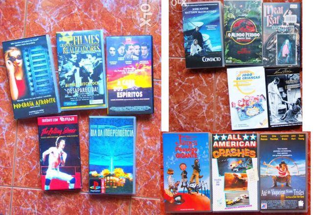 Cassetes VHS Originais de qualidade