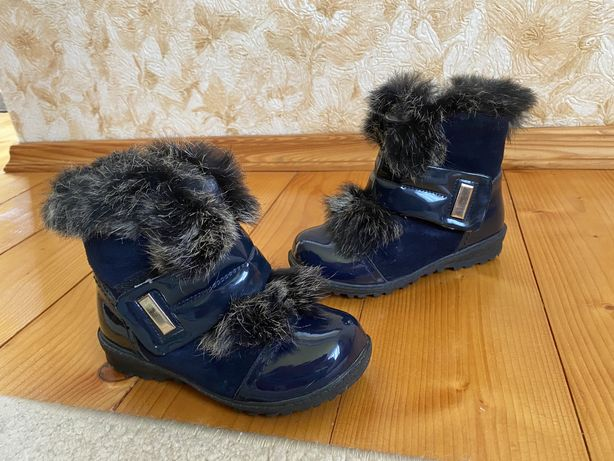Шкіряні лакові черевички, 25розмір