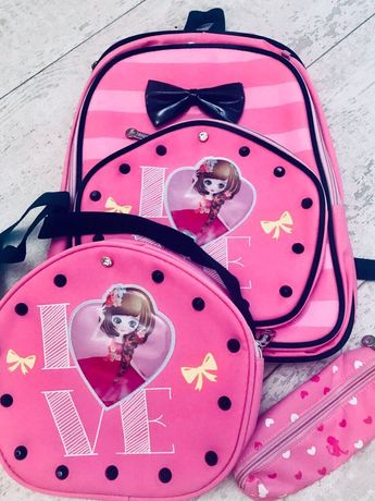 Школьный рюкзак для первоклашки - принцессы! Новый, из США.
